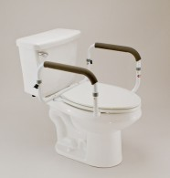 1. Carex Toilet Support Rail